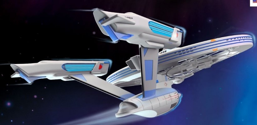 Star Trek U.S.S Enterprise by Air Hogs