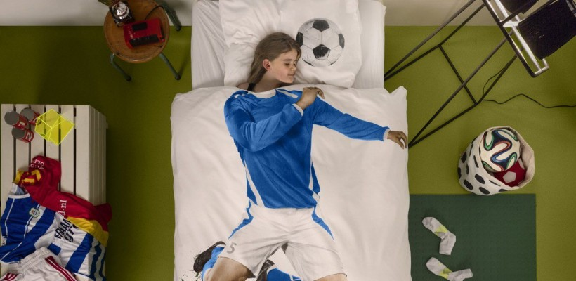 Soccer Champ Duvet Cover Set by Snurk USA