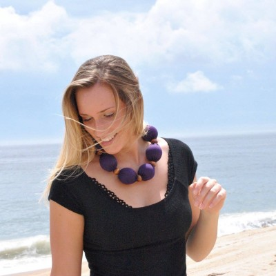 Nano-Ice Cooling Coral/Turquoise Necklace