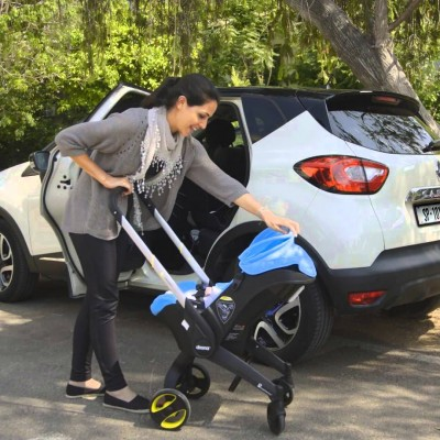 Doona: Move Your Baby From Car Seat to Stroller in Seconds!