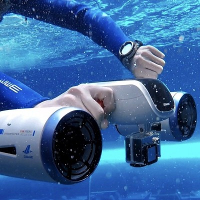 Meet the Whiteshark Mix Underwater Scooter by Sublue