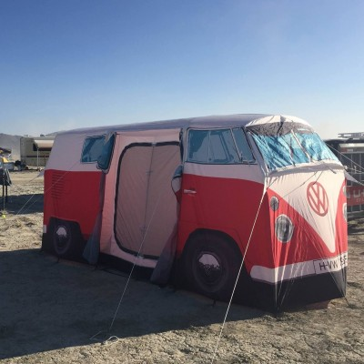 VW Camper Van Tent by The Monster Factory