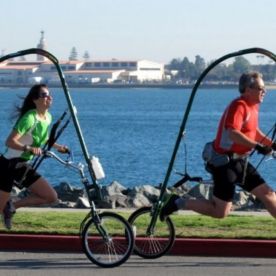 Meet GlideCycle PT X-Runner, And Enjoy Pain-Free Running On Wheels!